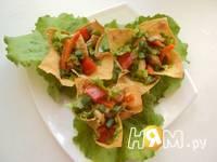 Приготовление салата с курицей в апельсиновом соусе: шаг 9