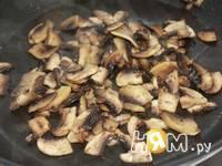 Приготовление запеканки из гречневой каши с грибами: шаг 3