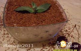 Творожный десерт с черешней