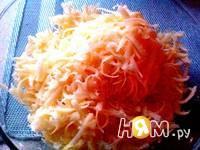 Приготовление итальянского салата с ветчиной и овощами: шаг 6