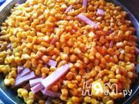 Приготовление итальянского салата с ветчиной и овощами: шаг 7