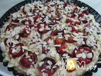 Приготовление пирога со сливами: шаг 10