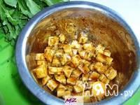 Приготовление салата наслаждение: шаг 4