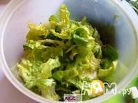 Приготовление салата наслаждение: шаг 5