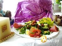 Приготовление салата наслаждение: шаг 8