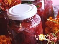 Приготовление клубничного варенья с базиликом и мятой: шаг 5