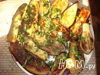 Приготовление закуски из баклажанов с шампиньонами: шаг 6