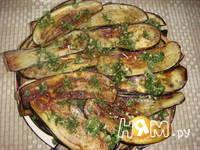 Приготовление закуски из баклажанов с шампиньонами: шаг 8