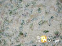 Приготовление селедки в лаваше: шаг 3