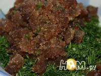 Приготовление селедки в лаваше: шаг 8