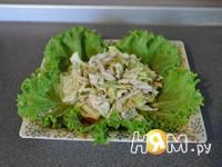 Приготовление салата Цезарь с курицей: шаг 16