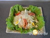 Приготовление салата Цезарь с курицей: шаг 19