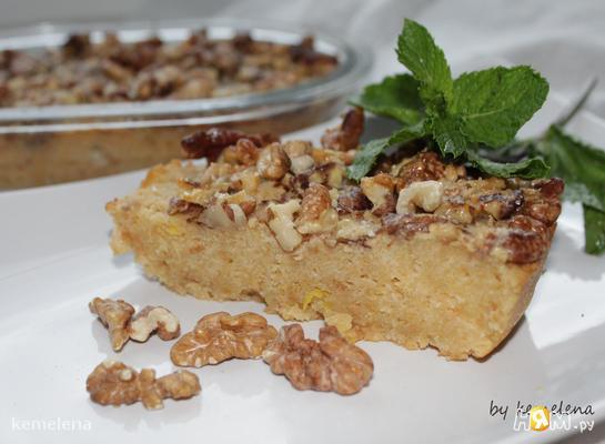 Орехово-лимонный каравай