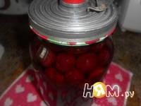 Приготовление вишневого компота на зиму: шаг 3