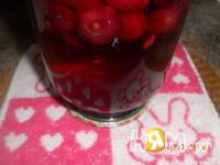 Приготовление вишневого компота на зиму: шаг 4
