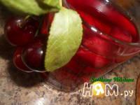 Приготовление вишневого компота на зиму: шаг 6