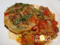 Приготовление кабачков, фаршированных мясом и грибами: шаг 9