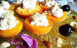 Абрикосовый и персиковый десерт
