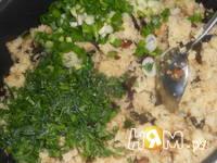 Приготовление арабских фантов с грибами и кускусом: шаг 5