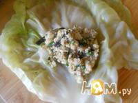 Приготовление арабских фантов с грибами и кускусом: шаг 6