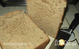 Хлеб из пшеничной цельнозерновой муки