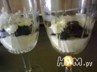 Приготовление десерта Ежевичное наслаждение: шаг 3