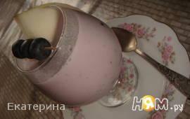 Десерт из голубики и дыни