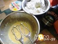 Приготовление торта Воздушного с малиной: шаг 4