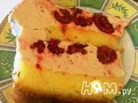 Приготовление торта Воздушного с малиной: шаг 9