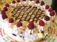 Приготовление торта Воздушного с малиной: шаг 10