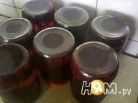 Приготовление компота из ежевики: шаг 9