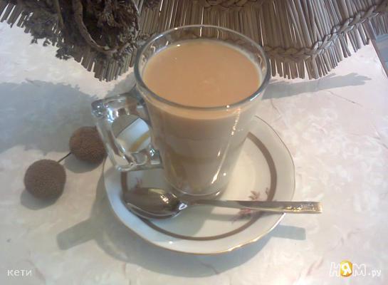 Мацони с растворимым кофе