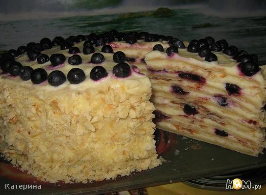 "Торт ""лесная ягодка"""