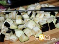 Приготовление баклажанов замороженных на зиму: шаг 3
