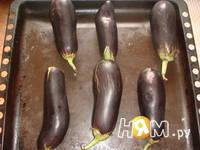Приготовление икры из баклажанов: шаг 1