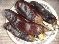 Приготовление икры из баклажанов: шаг 2