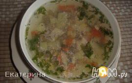 Курино-овощной суп по-мекскански