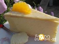Приготовление творожного торта с апельсинами: шаг 19