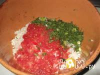 Приготовление фаршированных перцев, запеченных: шаг 5