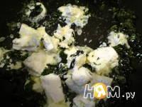 Приготовление холодного арбузного супа с сыром фета: шаг 3