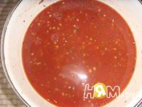 Приготовление острого томатного соуса: шаг 2