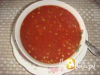 Приготовление острого томатного соуса: шаг 3