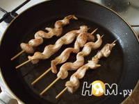 Приготовление шашлыков с соусом: шаг 4
