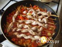 Приготовление шашлыков с соусом: шаг 10