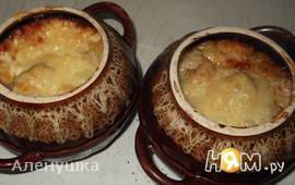 Грибы с картофелем способом огратен