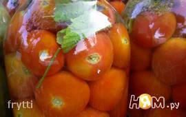 Квашенные помидоры по-Русаковски