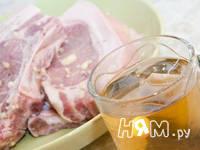 Приготовление свиного стейка в маринаде: шаг 3