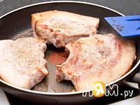Приготовление свиного стейка в маринаде: шаг 6