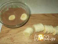 Приготовление бананового десерта: шаг 2