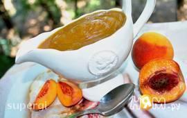 Сладкий персиковый соус